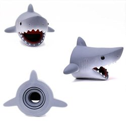 Hometom Yellow Duck Kitchen Bathroom Faucet Cover Sink Handle Extender for Baby Kids Safety (Shark)