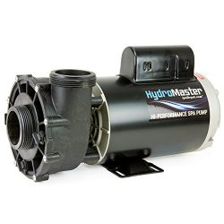 3 HP Hot Tub Spa Pump Side Discharge 2-Spd 56-Frame LX Motor 240V by HydroMaster (also replaces  ...