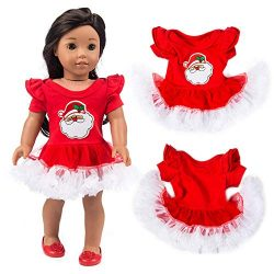 Rucan Chirstmas Clothes Dress for 18 Inch American Boy Doll Accessory