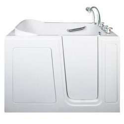Ella 284802R Short Gel Coat Air Massage Walk-In Bath Tub, Right Hand Drain
