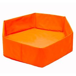 Bathtubs Freestanding Foldable Swimming Pool/Baby Pet Bath 65CM Orange
