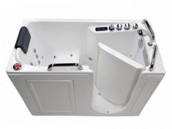 2753 Right Drain Air & Whirlpool Fully Loaded Walk In Bathtub 2753 White Tub