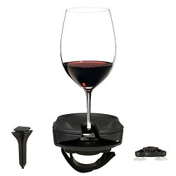 Outdoor Wine Glass Holder Accessories by Bella D'Vine – Includes Wine Stake For Picnics, Suction ...