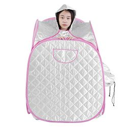 Portable/Bracket Steam Sauna Heating Tent Spa Salon 2L Steamer Slimming Home Office Salon Full B ...