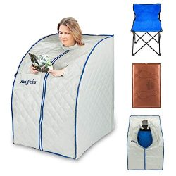 mefeir Portable Sauna Home SPA, Far Infrared Full Body Slimming Loss Weight, Healthy Detox Thera ...
