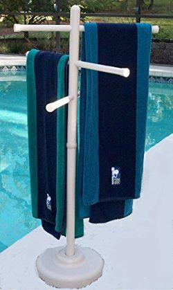 Outdoor Spa and Pool Towel Rack – Bone