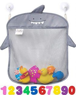 Bath Toy Organizer By Jojo Kids Keep Toys Dry Without Mold | Superior Quality Tub Toy Storage |  ...