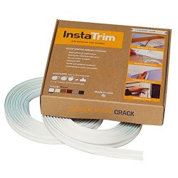 InstaTrim – Universal, Flexible, Adhesive Trim Solution – Cover Gaps Between Walls,  ...