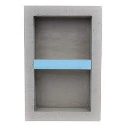 Houseables Shower Niche, Insert Storage Shelf, 12 x 20 Inch, Leak-Proof, Waterproof, Recessed Pr ...