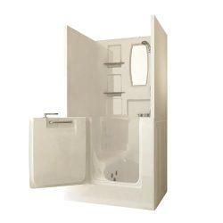 Sanctuary Small Shower Enclosure Walk In Tub