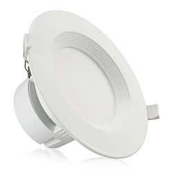 TORCHSTAR 6″ LED Recessed Downlight with Junction Box, 9W (80W Equivalent) Dimmable LED Ce ...