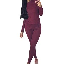 Yiqianzhaobiao Clearance Womens 2 PCS Tracksuits Set Ladies Joggers Active Sport Loungewear Blou ...
