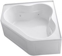 KOHLER K-1160-LA-0 Tercet Whirlpool, White