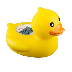 b&h Baby Thermometer, the Infant Baby Bath Floating Toy Safety Temperature Thermometer (Duck ...
