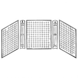 Kinro Composites WHT-CWS27STD-SPK White Corner Caddy Tub Surround – Piece of 3