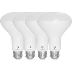 Great Eagle R30 or BR30 LED Bulb, 12W (100W equivalent), 1290 Lumens, Brighter Upgrade for 65W B ...