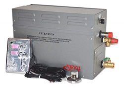 TURKU TK90 Full Set 9KW 240V Steam Generator KIT with Controller, Steam Head and Drain Valve