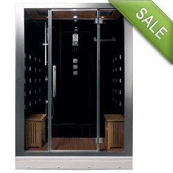 DZ972F8 Platinum Steam Shower Sauna Enclosure Jetted Spa