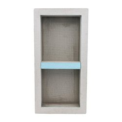 Houseables Shower Niche, Insert Storage Shelf, 12 x 28 Inch, Leak-Proof, Waterproof, Recessed Pr ...