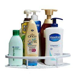 Gricol Bathroom Shower Shelf Triangle Wall Shower Caddy Space Aluminum Self Adhesive No Damage W ...