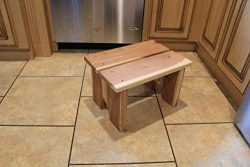 Step stool, children's step stool, kitchen stool, wooden stool, wooden step stool