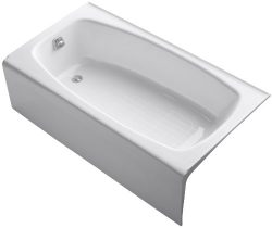 KOHLER K-519-0 Dynametric 5-Foot Bath, White