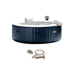 Intex Pure Spa 6 Person Inflatable Portable Outdoor Bubble Jets Hot Tub 28409EIntex PureSpa Hot  ...