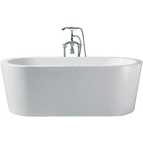 "DKB Brook UB013-6732 Freestanding Acrylic Bathtub 67″ x 32′"" inches"