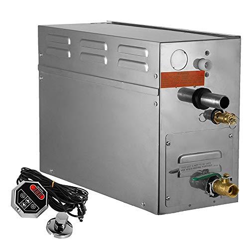Vogvigo 9kw Steam Generator Sauna Bath Steamer for Home SPA Shower with Waterproof Programmable  ...