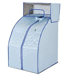 Steam Sauna Portable Household Foldable Waterproof Thick Fabric Two-Way Hand Chain Detachable Ho ...