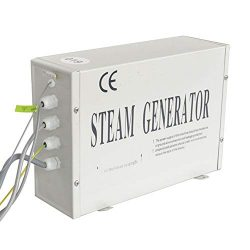 CGOLDENWALL 2.8-3KW Steam Generator Shower Sauna Bath Home Spa Steam Bath Generator for home SPA ...