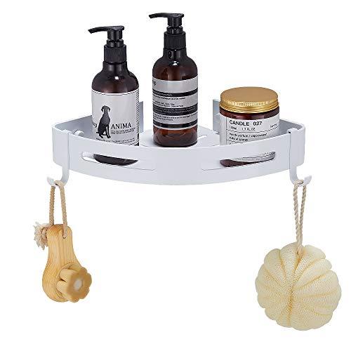 Gricol Bathroom Shower Caddy Wall Shower Shelf Space Aluminum Self Adhesive Bathroom Accessories ...