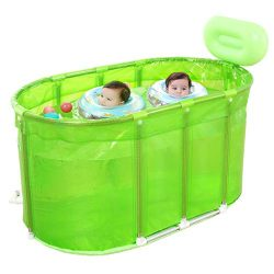 Ying Bathtub Practical Child Adult Inflatable Bathtub Portable Sauna Bath Stainless Steel Bracke ...