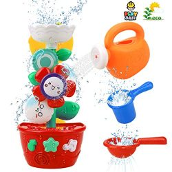 Bath Toys for Toddlers Babies Kids 1 2 3 Year Old Boys Girls Bathtub Toys Bath Wall Toy Fill Flo ...