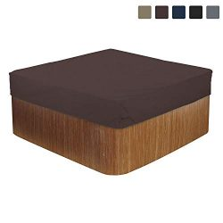 COVERS & ALL Hot Tub Cover/Spa Cover 12 Oz Waterproof – 100% UV & Weather Resistan ...