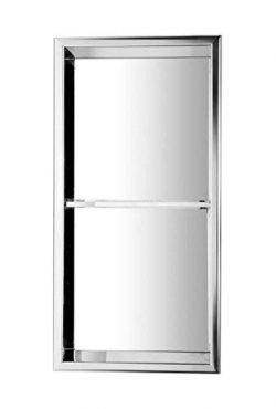 ALFI brand ABN1224-PSS Shower Niche Polished Stainless Steel