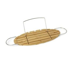 AmazonBasics Bamboo Bathtub Caddy