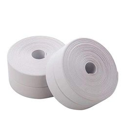 Tub and Wall Caulk Strip Bathtub Caulk Strip PVC Waterproof Self Adhesive Tub, Edge a Platform,K ...