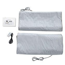 Cocoarm Portable Far Infrared Heat Sauna Blanket for Body Shape Slimming and Detox Therapy Home  ...
