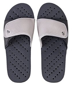 Showaflops Mens' Antimicrobial Shower & Water Sandals for Pool, Beach, Dorm and Gym &# ...