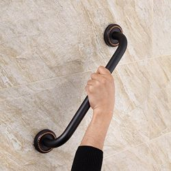 FLG Bathroom Shower Bath Grab Bar, Oil Rubbed Bronze
