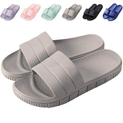clootess Womens Men Home Shoes Bath Slipper Indoor Sandal Shower Slides Soft Non-Slip Quick Dryi ...