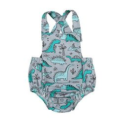 Newborn Infant Baby Fruit Print Backless Sleeveless Romper Jumpsuit Summer Straps Sunsuit Clothe ...