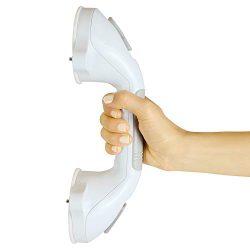 Vive Grab Bar – Suction Shower Handle – Bathroom Balance Bar – Safety Hand Rai ...
