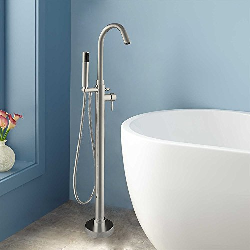 WOODBRIDGE F-0001 B BathTub Faucet Brushed Nickel