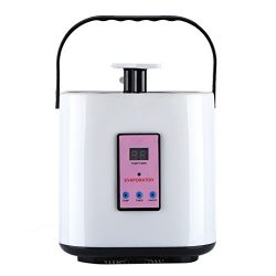 Zerodis 2L Home Portable Steam Generator Sauna Steamer Pot Remote-Controlled Home SPA Accessorie ...