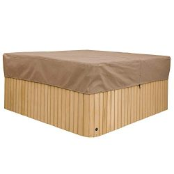 Duck Covers Essential 86″ Square Hot Tub Cover Cap