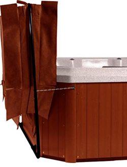 Cover Butler Bottom Mount Spa/Hot Tub Cover Lifter – Black