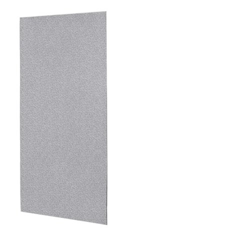 Swanstone SS-3672-1-042 Solid Surface Glue-Up 1-piece Shower Wall Panel 0.25″ L x 36&#8243 ...