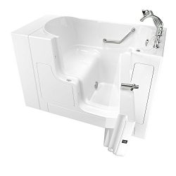 American Standard 30″x52″ Right Hand Outward Opening Door Value Series Walk in Bath  ...